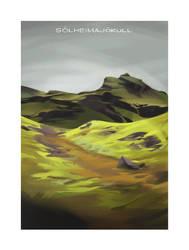 Iceland 2014 - Solheimajokull by shoomlah