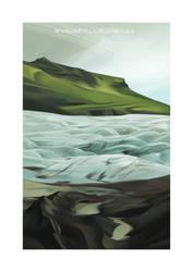 Iceland 2014 - Svinafellsjokull by shoomlah