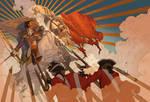 Guns and Ships by shoomlah