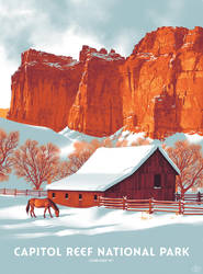 Fifty-Nine Parks - Capitol Reef by shoomlah