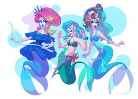 Drag Daughters of Triton by shoomlah