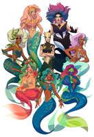 Drag Daughters of Triton, vol. 2 by shoomlah