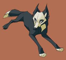 Skulldog Couchant Reguardant by shoomlah