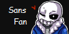 Sans the skeleton stamp by PeppermintLoser