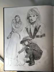 Sketchbook 2018 page 3 by katr14