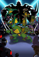 Turtles Forever Fathom Poster by E-Mann