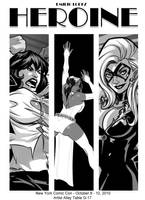 Heroine Preview Marvel Ladys by E-Mann