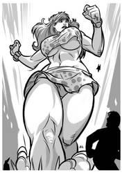 Heroine: Giganta by E-Mann