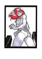 Heroine Giganta Sketch by E-Mann