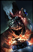Batman: Arkham Knight Limited Edition Comic Cover by E-Mann