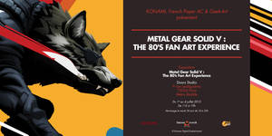 Metal Gear Solid V Art show Promo by E-Mann