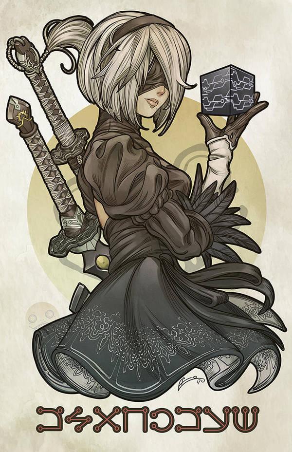 NieR Automata : BLACK BOX by E-Mann