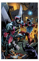Cover Ben Reilly: Scarlet Spider 13 by E-Mann