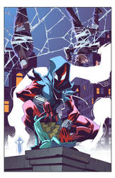 Cover Ben Reilly: Scarlet Spider 14 by E-Mann