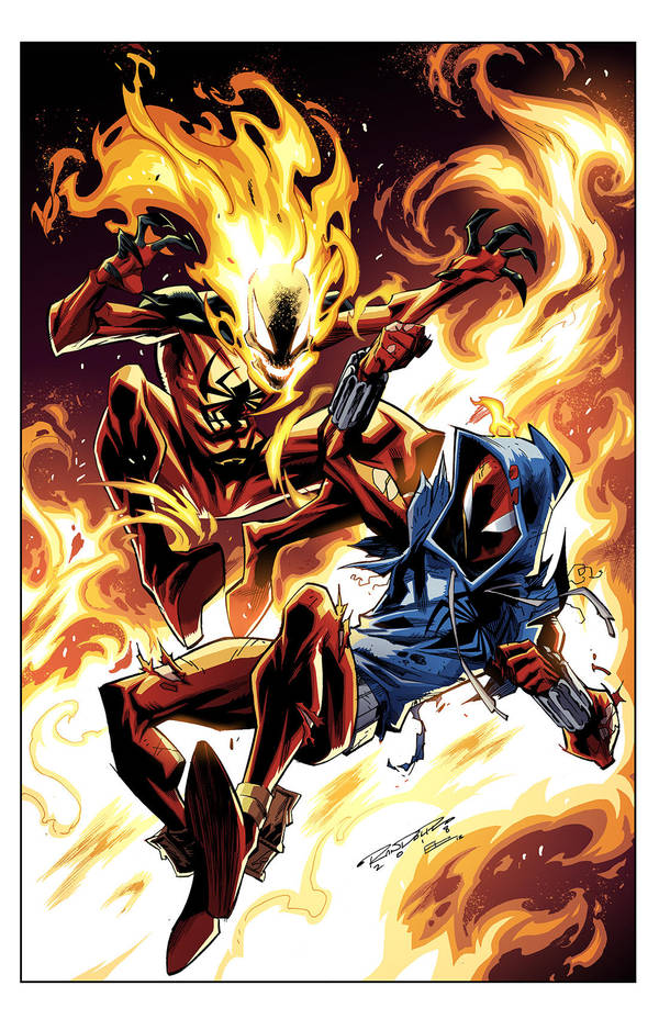 Cover Ben Reilly: Scarlet Spider 17 by E-Mann