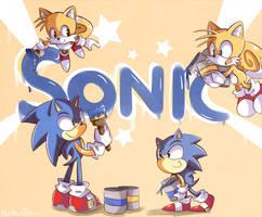 I'm Sonic, Sonic the Hedgehog by Ipun