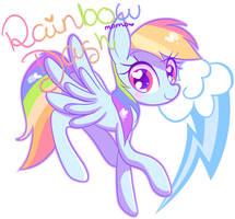 Rainbow Dash by Ipun