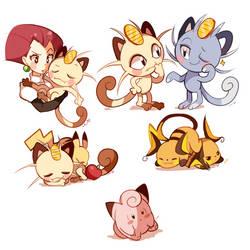 Pokemon Doodles 2 by Ipun
