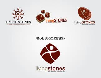 Living Stones Church Logotype by jlampley