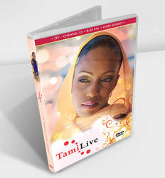 TamiLive DVD Cover Mockup by jlampley