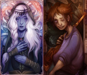 [c] Tarot Cards II by al-kem-y