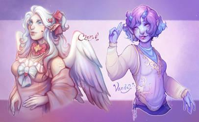 {c} Pastel Princesses by al-kem-y