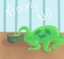 Moony no by Gunmoony