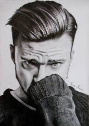 Justin Timberlake Portrait by KrasenMaximov
