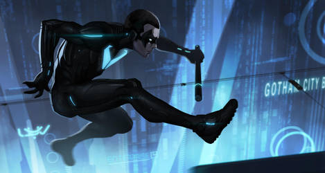 -- Nightwing Beyond -- by yvanquinet