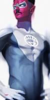 -- White Sinestro -- by yvanquinet