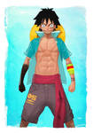 -- Luffy -- by yvanquinet