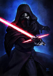 -- Kylo Ren -- by yvanquinet