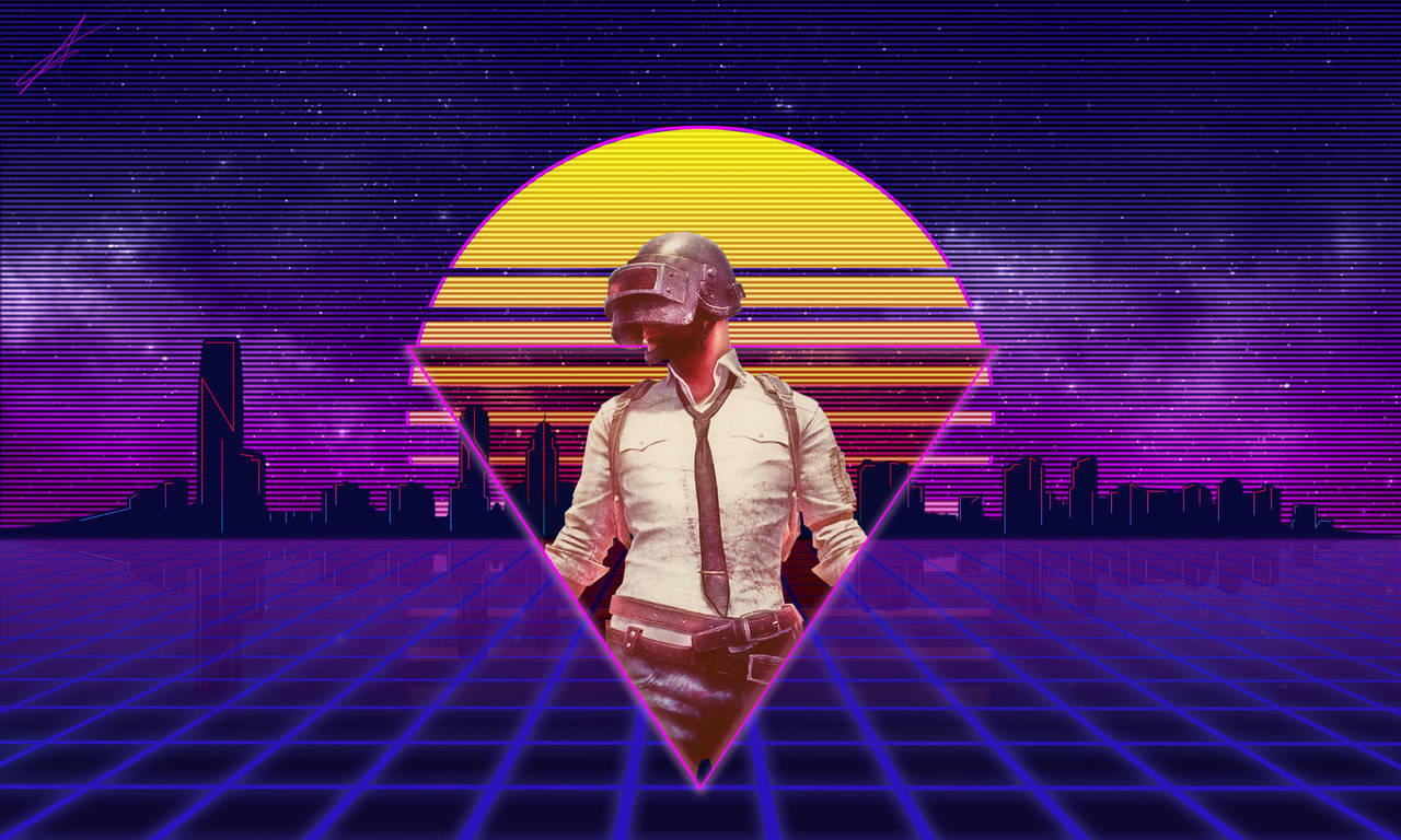 Retrowave PUBG By Mrlemonoid On DeviantArt