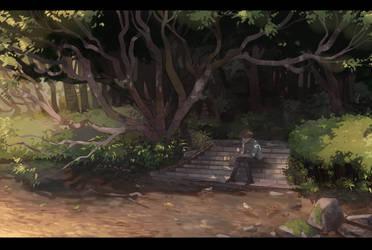 :Dusk Stroll: by Nacura-G