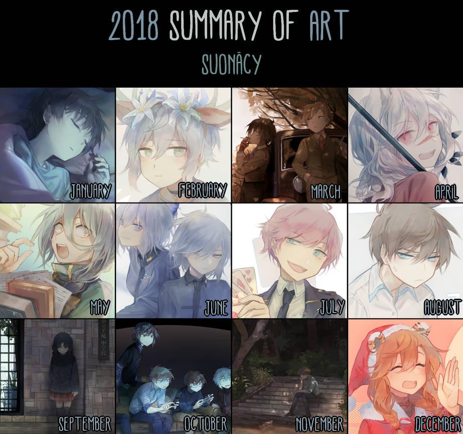 :Summary of Art - 2018: by Nacura-G