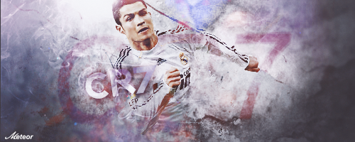 there's only one CR7 by meteorblade