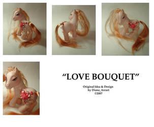 MLP Custom- Love Bouquet by BlackAngel-Diana