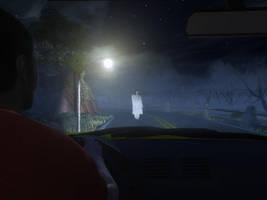 Vanishing hitchhiker by LVairon