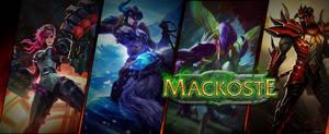 Banner League of Legends by LVairon