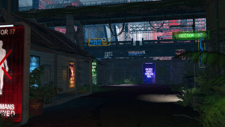 Sector 37 - Entry for Neon Challenge by Unity by LVairon
