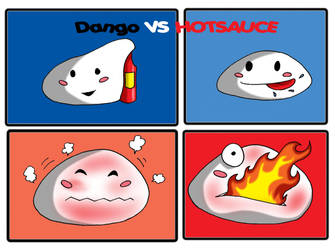 Dango vs HOTSAUCE by Zelmarr