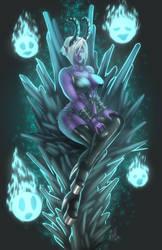 Demon Gal Throne by Zelmarr