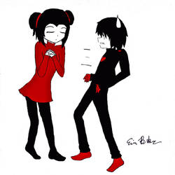 Pucca Wants a Kiss 2 by pieizgud
