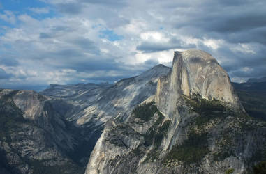 The half dome by DontEverLookDown
