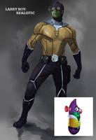 Larry Boy: Avenger by IronWarrior777