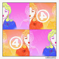 Invisible POP ART by IronWarrior777