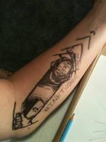 SPECIAL #Inktober Arrow by IronWarrior777