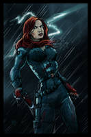 Black Widow by IronWarrior777
