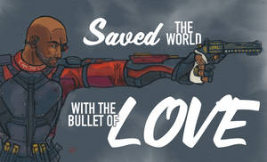 Suicide Squad: Deadshot by IronWarrior777