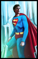 Superman by IronWarrior777